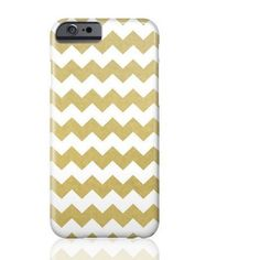 Gold Chevron Phone Case
