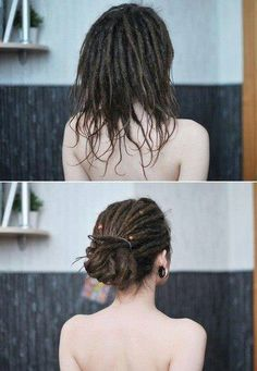 Hair Like Tree Roots