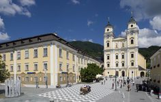 Basilica St. Michael, Mondsee, Austria  Wedding in the Sound of Music was filmed here :)