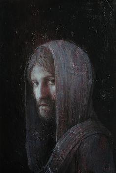 """agostinoarrivabene:    """"..e il giorno gia volge al declino.."""" 2013  oil on linen cm 39,5 x 25,5  www.agostinoarrivabene.it"""