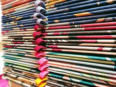 Handcrafted Journals - Rainbow Handmade Journals, Art Supplies