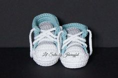Baby Tennis Shoes, Baby Sneakers, Baby Converse, Baby Chuck Taylors, Crochet Baby Shoes, Neutral Baby Gift, Baby Girl Shoes, Baby Boy Shoes by jdurayful on Etsy