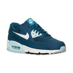 Women s Nike Air Max 90 Essential Running Shoes ( 65) ❤ liked on Polyvore  featuring 52e4aea7a