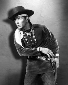 Jay Silverheels - Four Guns To The Border  (1954)