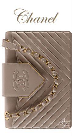 Brilliant Luxury ♦ Chanel Gray Sheepskin Flap Bag FW 2016/17
