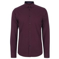 Siegel Polka Dot Shirt   Men's Shirts   Merc Clothing