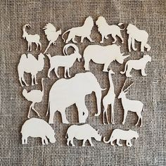 Just added to my store set of laser cut wood animals. Discounts available for bulk orders (link in bio) #engraving #customengraving #lasercut #lasercutting #laserengraving #woodworking #carpentry #woodenengraving #woodengraving #handlettering #customdesign #weddingplanning #caketoppers #woodensigns#safari #zoo #elephant #giraffe