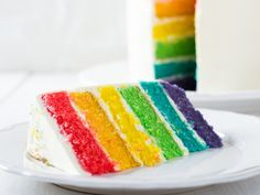 Check out this Rainbow Dessert Compilation Rainbow Desserts, Baking Bad, Cookie Dough Frosting, Cactus Cake, Waffle Cake, Drip Cakes, Strawberries And Cream, Cake Cookies, Beautiful Cakes