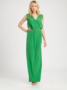 I bought this dress a few years back for my cousin's wedding. The color was amazing and it has a cool back cut out. But hard to deal with bra issue when you are a D cup.