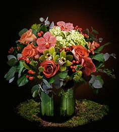 Fitzroy's Flowers | Award-Winning Florist | Classic Orange