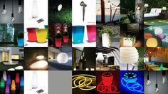 Vasi luminosi da giardino led e basso consumo luci per esterno