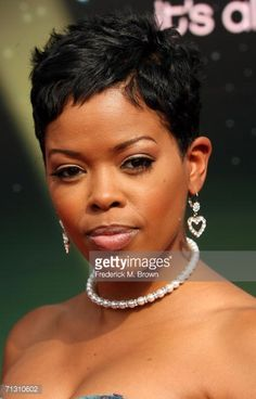 Actress Malinda Williams arrives at the 2006 BET Awards at the Shrine Auditorium on June 27, 2006 in Los Angeles, California.