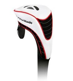 TaylorMade TM Fairway Headcover, White by TaylorMade. $15.43. This TM white fairway headcover features semi perforate synthetic white PU leather. Black nubuck accents. Polyester elastic ribbed sock. TaylorMade branding.