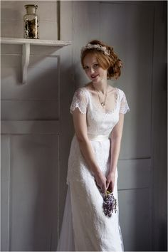 Vintage Inspired Bridal Gowns | Modern Bridal Elegance: Sally Lacock - Want That Wedding - Want That Wedding