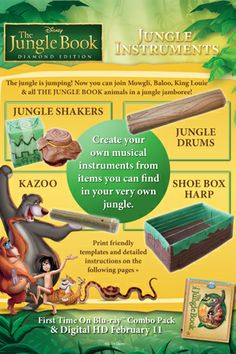 jungle-themed musical Instruments