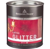 Glitter walls!