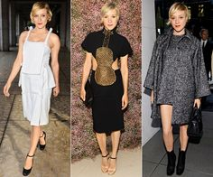 The MOST Stylish Women | Chloë Sevigny - One of the pioneers of New York downtown cool, the actress and designer of her own Opening Ceremony line keeps it youthful and fun. And she's good for a dose of quirk from Miu Miu or Prada. (From left to right: Christopher Kane, vintage Chloé, Dolce & Gabbana)