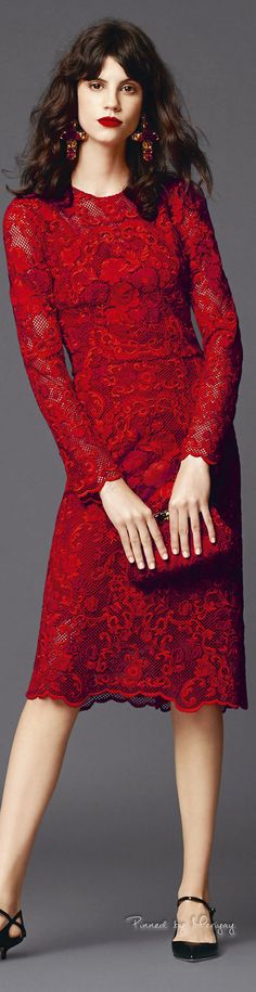 I really want this dress!! ♔Dolce Gabbana.2015♔