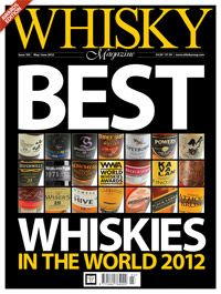 I'm a contributing editor for Whisky Magazine and was one of the judges in the World Whiskies Awards competition.