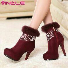 Julie Dee lederstiefelette zapatos de piel cuero botín cordero noble