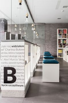 KASIA ORWAT home design took on the challenge of redesigning the interior of a bookstore in just three weeks.