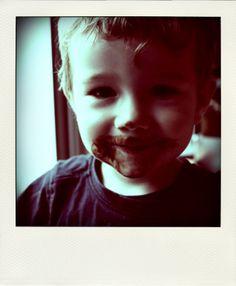 J'ai tout mangé le chocolat...