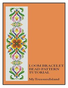 Bead Loom Vintage Motif 2 Antique MultiColor by MyTreasureIsland, $6.50