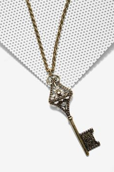 Retro Key Chain Necklace