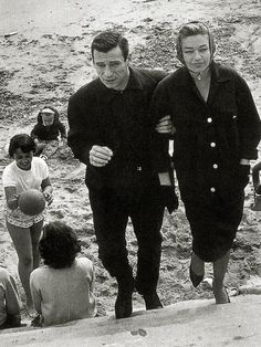 Yves Montand and Simone Signoret, 1959