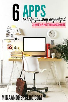 Need Organizational App to help you get MORE organized? I use most of these apps and they are amazing helping me to stay organized
