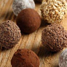 Basic truffle recipe, customize as you like: