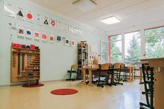Montessori, Conference Room, Photo Wall, Desk, Frame, Table, Furniture, Home Decor, Chemnitz