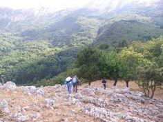 Escursione tra roverelle secolari, grotte pozzi e abbeveratoi.