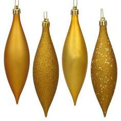 tear drop gold ornaments christmas store christmas tree ornaments gold christmas tree christmas - Gold Christmas Ornaments