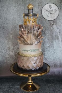 Game of Thrones cake by Tastefully Yours Cake Art