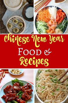 Celebrate Chinese New Year with some great tasting foods that all have different meanings and experience something new. Chinese New Year Recipes | Recipes for Chinese New Year | Easy Chinese New Year Recipes | Best Chinese New Year Recipes | Easy Chinese Food Recipes | Best Chinese Food Recipes via @AmyBarseghian #chinesefoodrecipes