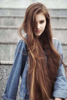 Cute Hairstyle for Womens with Long Length Hair 2019 Colored Hair Extensions, Clip In Hair Extensions, Beautiful Long Hair, Gorgeous Hair, Beautiful Women, Twist Hairstyles, Straight Hairstyles, Long Haircuts, Long Length Hair