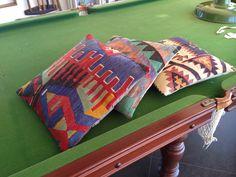 We got cushions!