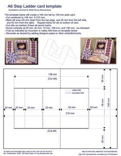A6 Stufenleiter Karte Foto A6StepLaddercardtemplate.jpg