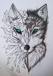 Αποτέλεσμα εικόνας για wolf sketch