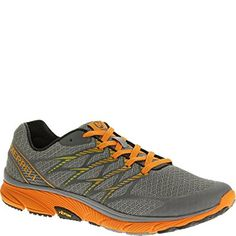 Merrell Mens Bare Access Ultra Trail Running Shoe D(M) US, Monument    Orange) -- Click image for more details. 0bd9d64690