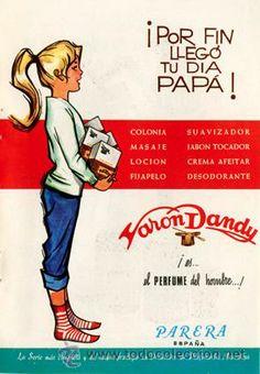 Página Publicidad Original *VARON DANDY. PARERA - Día del Padre* - Año 1967