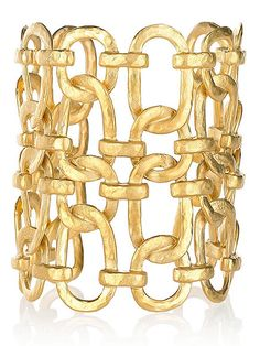 Kenneth Jay Lane cuff, $140 at net-a-porter.com