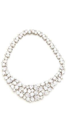 Kenneth Jay Lane Statement Collar Necklace