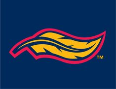 Mud Hens Logo | Toledo Mud Hens Cap Logo (2006) - (Alt) A yellow feather with navy and ...