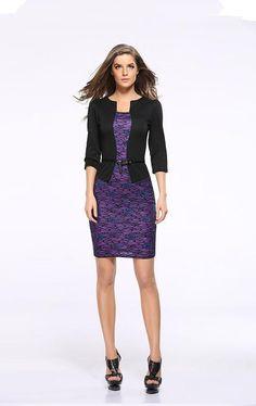 477955ba45ff Seven-point sleeve dress. Dzinershop