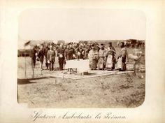 Sfințirea Ambulanței de război 1877 la Poiana
