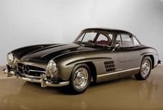 You will ❤ MACHINE Shop Café... ❤ The Best of Mercedes-Benz ❤ ('55  300SL Graphite Grey Coupé)