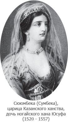 Сююмбике (Сумбека) царица Казанская