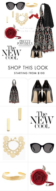"""Untitled #158"" by robyscognamiglio ❤ liked on Polyvore featuring Jovani, Jimmy Choo, Jennifer Meyer Jewelry, Kate Spade, Gucci, Cornelia Webb, men's fashion and menswear"